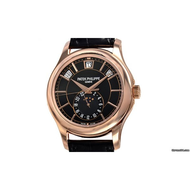 7efd70746cf All Watches · PATEK PHILIPPE  NEW  SA Complications 5205R-010 Rose Gold  Black Dial (List Price  HK 359