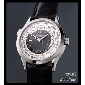 Patek Philippe [NEW] World Time Mens 5230G-001 (Retail:HK$356,500)