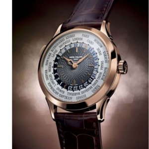 Patek Philippe [NEW] World Time Mens 5230R-001 (Retail:HK$356,500)