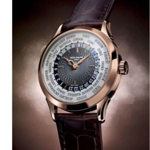 Patek Philippe [NEW] World Time Mens 5230R-001 (Retail:HK$356,500)