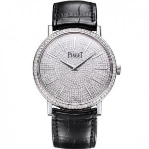 Piaget [NEW] Altiplano 38 White Gold Full Diamond G0A36129 (Retail:US$51,500)
