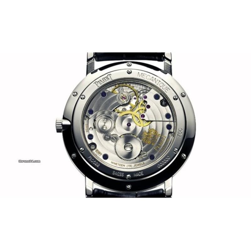 PIAGET [NEW] Altiplano Mechanical Black Dial G0A34114 (Retail:HK$145,000)