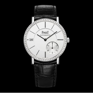 PIAGET [NEW] Altiplano Silvered Dial 18K White Gold Diamond Automatic Men's Wach G0A39138