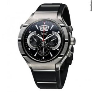 Piaget [NEW] Polo FortyFive Flyback Chronograph GMT 45mm G0A34002 (Retail:CHF 19,100)