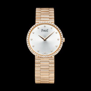 PIAGET [NEW] Traditional Silvered Dial Ladies Watch G0A37046