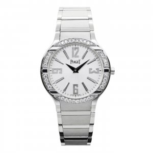 PIAGET  [全新] GOA36231 Polo Quartz 18K White Gold Ladies Watch (Retail:US44,700)