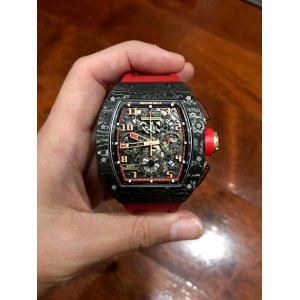 Richard Mille [2015 USED] RM 011 Carbon NTPT Lotus F1 Team