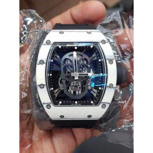 Richard Mille [NEW][LIMITED 10 PC] Black Skull NTPT RM 52-01