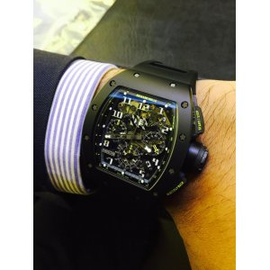 Richard Mille [99%NEW] RM 011 Flyback Chronograph Yellow Flash LTD 50 PCs (Retail:US$148,000) - SOLD!!
