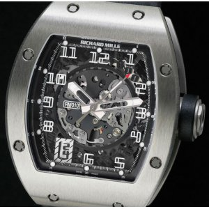 Richard Mille [BRAND NEW] RM010 Titanium LAST BRAND NEW PIECE!! - DISCONTINUED!!
