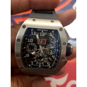 Richard Mille [LIKE-NEW][二手如新] RM 011 White Gold With Open Date Warranty - SOLD!!