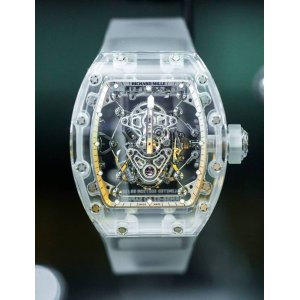 Richard Mille [NEW][LIMITED 10 PC] RM 56-02 Sapphire Tourbillon (Retail:US$2,020,000) - SOLD!!