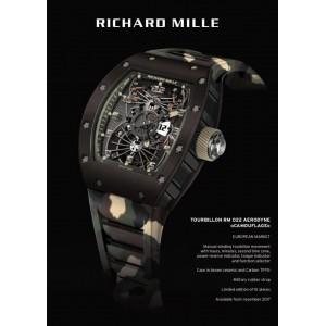 Richard Mille [NEW][LIMITED 10 PC][限量10支] RM 022 Aerodyne Tourbillon