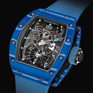 Richard Mille [NEW][LIMITED 10 PC][限量10支] RM 022 Blue Version Tourbillon Watch