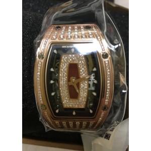 Richard Mille [NEW+RARE] RM 07-01 Ladies Rose Gold Med Set Diamond Watch