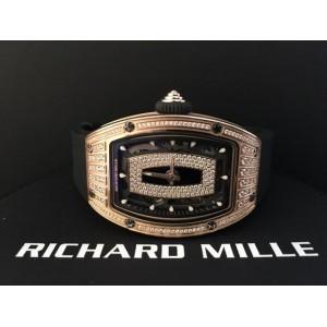 Richard Mille [NEW] RM 007 Rose Gold Med Set Diamond Ladies Watch