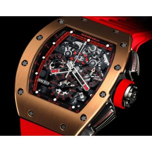Richard Mille New RM 011 Automatic Flyback Chronograph Red Demon Limited Edition to 30 Pieces - SOLD!!