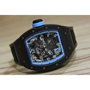 Richard Mille [NEW] RM 030 Argentina Black DLC Titanium Limited 30 PCs (Retail:US$140,000) - SOLD!!