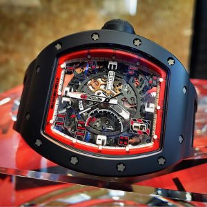 Richard Mille [NEW] RM 030 Automatic BLACK DASH LIMITED 50 PIECE (Retail:US$140,000)