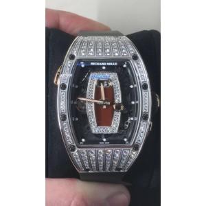 Richard Mille [NEW] RM 037 Med Set Diamonds Ladies (Retail:US$155,000)