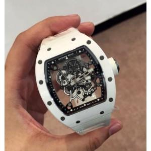 Richard Mille [NEW] RM 055 Bubba Watson White (Retail: HK$861,265)