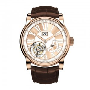 Roger Dubuis [NEW] Hommage Flying Tourbillon in Rose Gold RDDBHO0568