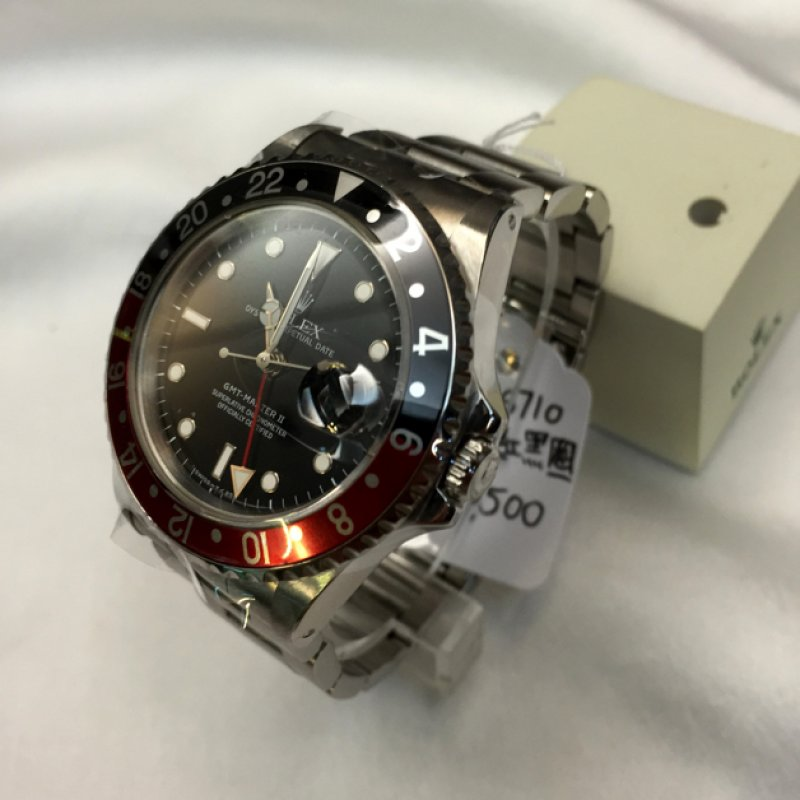Rolex Coca-Cola Dial GMT-Master II 16710 T-Series Mint Condition- SOLD!!