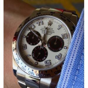 Rolex Cosmograph Daytona White Gold 116509 PANDA Dial (Retail:HK$269,300) - SOLD!!