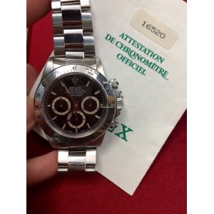Rolex [MINT] Vintage 16520 Black Daytona W-Series - SOLD!!