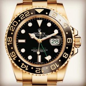 Rolex [NEW] 116718LN Black Dial GMT Master II 18K YG Ceramic Bezel (Retail:HK$228,500)