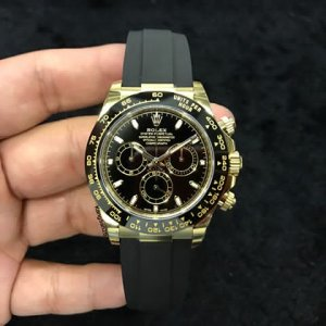Rolex [NEW 2017 MODEL] Daytona 116518LN Black Dial Watch