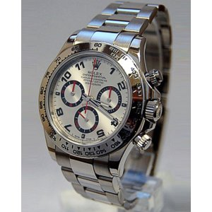 Rolex [NEW] Cosmograph Daytona 116509 Silver Arab (Retail:HK$269,300)