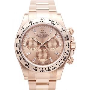 Rolex [NEW] Cosmograph Daytona Everose Gold Diamond 116505-PNKDO (Retail:HK$318,300)
