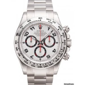ROLEX [NEW] COSMOGRAPH DAYTONA WHITEGOLD 116509/78599 SILVER DIAL (RETAIL:HK$269,300)
