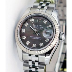 ROLEX [NEW] DATEJUST 26mm DIAMOND MOTHER OF PEARL 179174 JUBILEE BRACELET (Retail:HK$84,900)