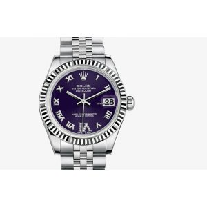 Rolex [NEW] Datejust 31mm 178274 Purple VI Roman Diamond Jubilee Bracelet (Retail:HK$66,900)