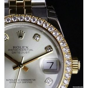 Rolex [NEW] Datejust 31mm 178383 Silver Diamond (Retail:HK$125,700)