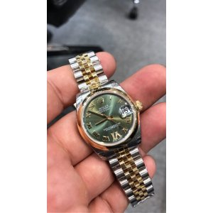 Rolex [NEW] Datejust 31mm Ladies 178243 Green Dial Watch (Retail:HK$101,600)