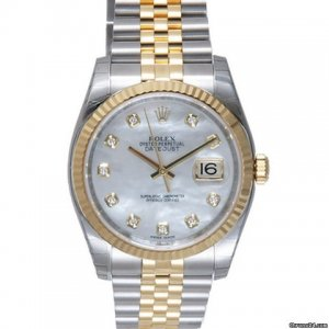 Rolex [NEW] Datejust Champagne Index Dial Oyster Bracelet 116233 (Retail:HK$78,500)