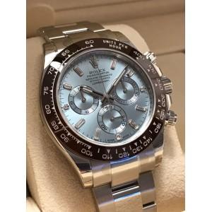 Rolex [NEW] Daytona Ice Blue Platinum Diamond 116506A (Retail:HK$632,500)