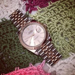 Rolex [NEW] Mens Datejust II 41mm 126331 Pink Rose Gold & Steel Jubilee