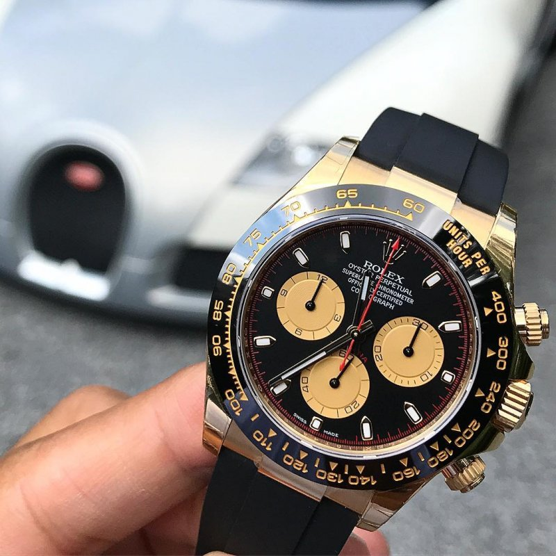 Rolex NEW-全新 Yellow Gold Paul Newman Daytona 116518LN