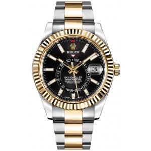 Rolex [NEW] Sky-Dweller 326933 Black Dial Mens Watch