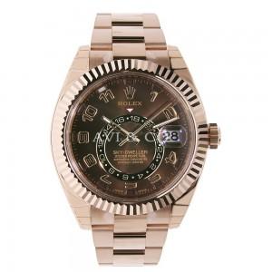 Rolex [NEW] Sky-Dweller 326935 42mm Everose Chocolate (Retail:HK$380,000)