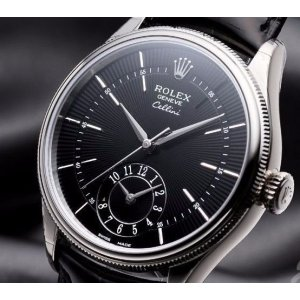 Rolex [NEW][SPECIAL DEAL] Cellini Dual Time 50529 Black Dial (Retail:HK$151,000)