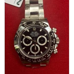 Rolex [NEW][香港行貨] Daytona 116500LN Black Dial Cerachrom Black Bezel