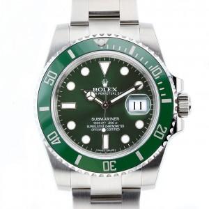 Rolex [NEW][香港行貨] Green Submariner 116610LV