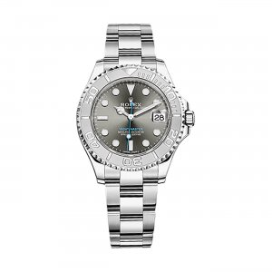 ROLEX [NEW] Yacht-Master Rhodium Dial Steel and Platinum Oyster Ladies 268622 (Retail:HK$86,800)