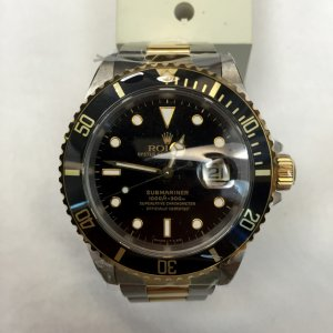 Rolex Two Tone Submariner 16613 in Mint Condition - SOLD!!