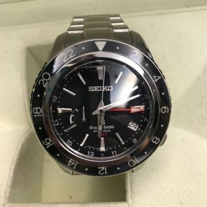 "Seiko [Per-Owned] SBGE001 9R66-0AA0 Grand Seiko Spring Drive GMT ""Master Shop"" LIMITED"